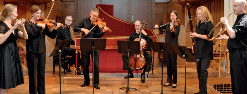 Dramatic Baroque Suites: Victoria Baroque Players